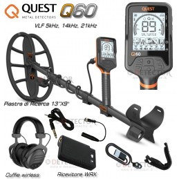 QUEST Q60 CUFFIE WIRLESS