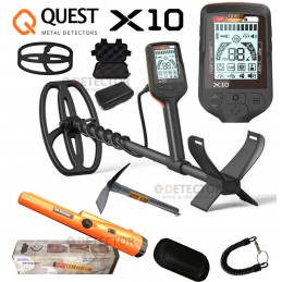 QUEST X10 CON PINPOINTER...