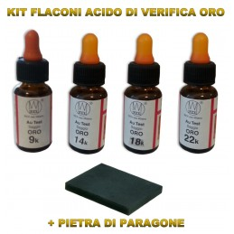 KIT ACIDI VERIFICA ORO